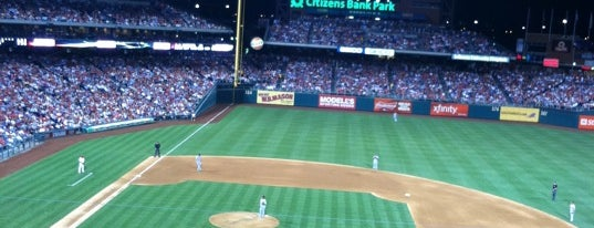 Citizens Bank Park is one of MLB Baseball Stadiums.