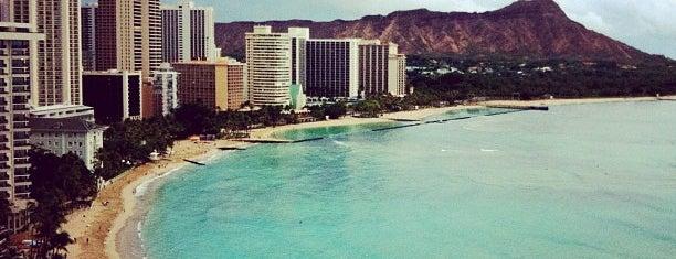 ワイキキビーチ is one of Honolulu: The Big Pineapple #4sqCities.