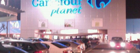 Carrefour is one of I love shopping (Malls).