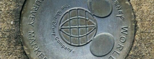 WDW Survey Marker is one of Transportation & Misc Disney World Venues.