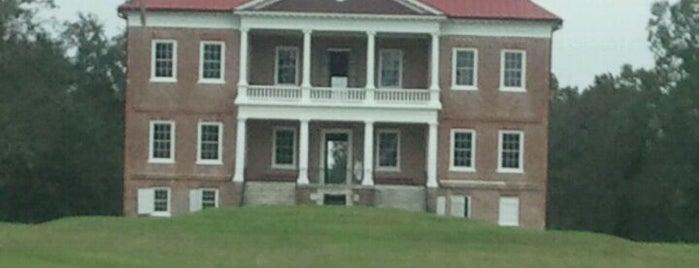 Drayton Hall is one of Charleston, SC.