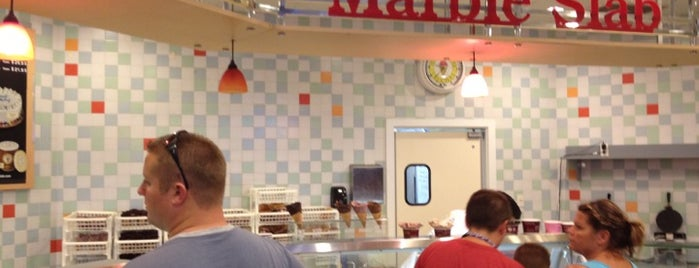 Marble Slab Creamery is one of OKC Faves.