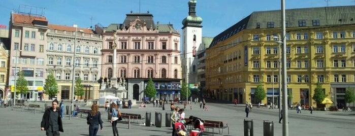 Náměstí Svobody is one of Foursquare Day 2013 - April 16.