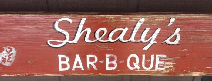 Shealy's Bar-B-Que is one of Lugares guardados de Tim.