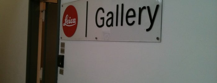 Leica Gallery is one of New York, New York!.