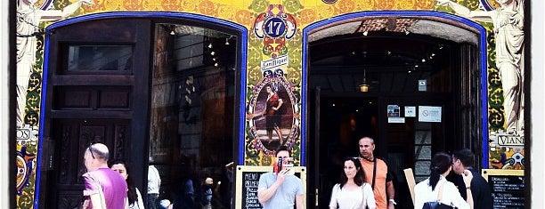 Fatigas del Querer is one of Best restaurants in Madrid.