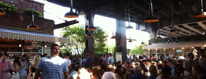 The Biergarten at The Standard is one of David's New York favourites.