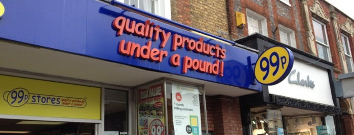 99p Stores is one of Lieux qui ont plu à Carl.