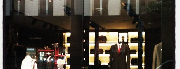 Dolce & Gabbana is one of Paris Shopping Guide.