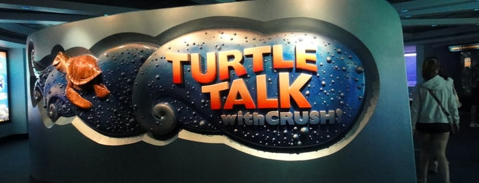 Turtle Talk with Crush is one of My vacation @ FL2.
