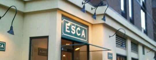 Esca is one of New restos.