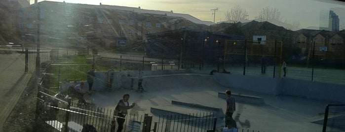 Mudchute Skatepark is one of Greenwich and Docklands; London.