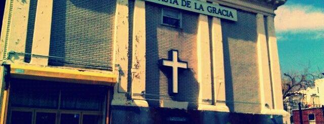 Grace Spanish Baptist Church is one of Work.