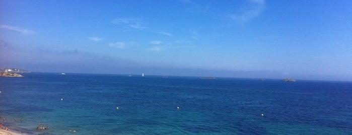 Platja d'En Bossa is one of Guide to Ibiza's best spots.