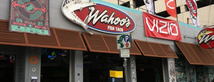 Wahoo's Fish Taco is one of Austin.
