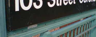 MTA Subway - 103rd St/Corona Plaza (7) is one of IRT Flushing Line (7) <7>.