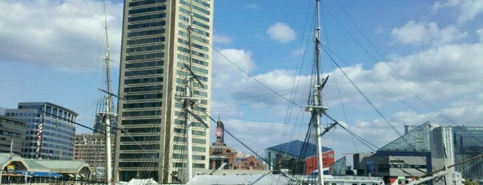 USS Constellation is one of Charm City's Finest.