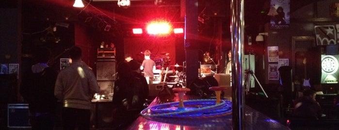 Backstage Bar & Grill (BSBG) is one of Gespeicherte Orte von Sky.
