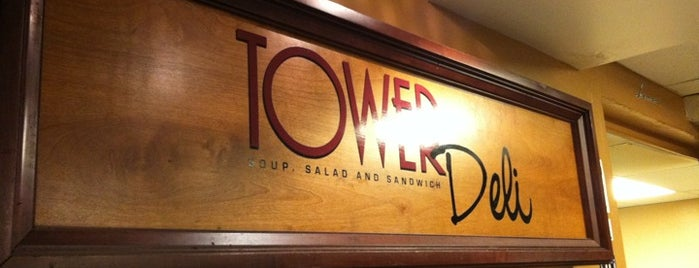 Tower Deli is one of my places.