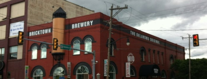 Bricktown Brewery is one of Locali.