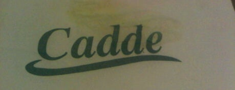 Cafe Cadde is one of Let's go !.