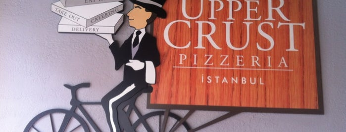 The Upper Crust is one of Best of pizza :).