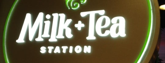 Milk + Tea Station is one of Tomas Morato - Timog Hangouts.