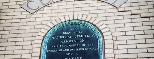Machpelah Cemetery is one of Sites.