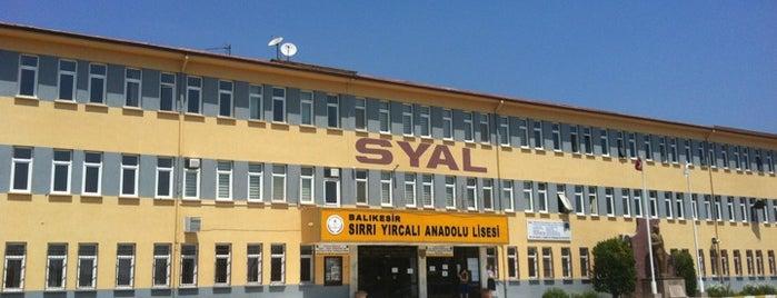 Sırrı Yırcalı Anadolu Lisesi is one of Orte, die serdar gefallen.