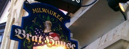 Milwaukee Brat House is one of Restaurants to try/return to!.