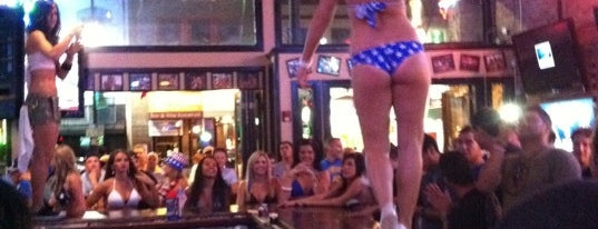Bikinis Sports Bar & Grill is one of B-restaraunt Chains.