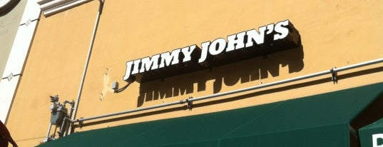 Jimmy John's is one of My trip to Florida.