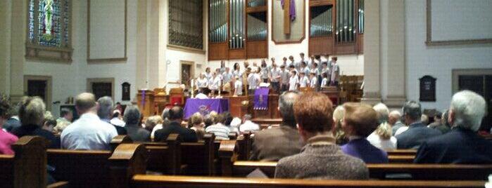 Belmont United Methodist Church is one of B Davidさんのお気に入りスポット.