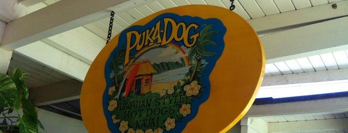 Puka Dog is one of Kauai's Top 10 for Food, Drinks, and Dessert.