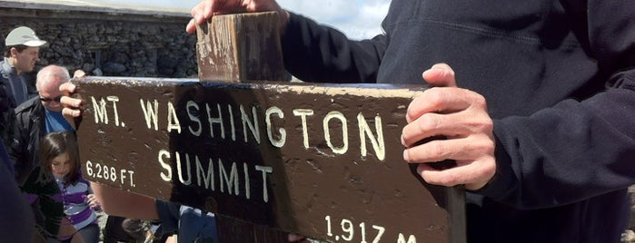 Mount Washington Summit is one of New England trip.