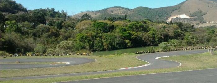 Kartodromo Veu das Noivas is one of Poços de Caldas - MG.