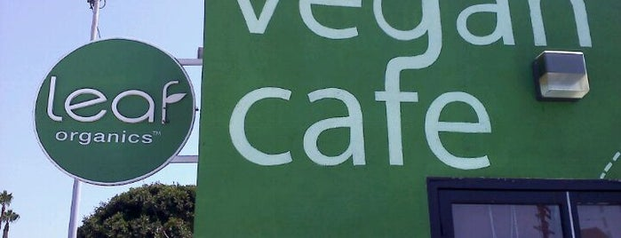 Leaf Organics is one of Vegan eateries.
