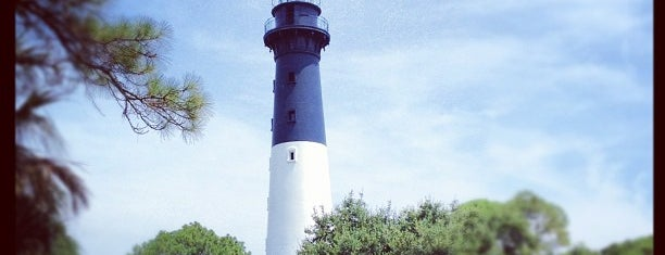 Hunting Island Lighthouse is one of Lieux sauvegardés par Christy.