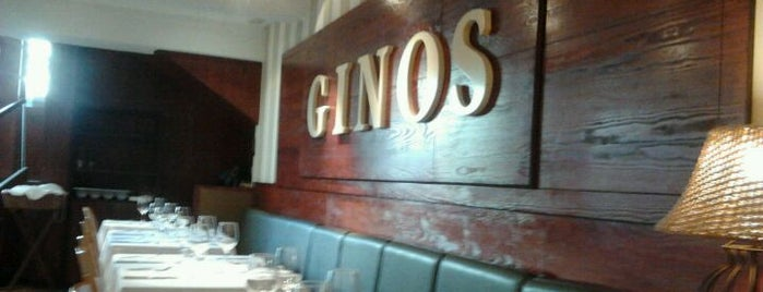 Ginos Francesc Maciá is one of Restaurantes.