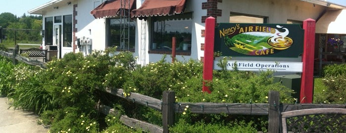 Nancy's Air Field Café is one of Weekend Brunch in Boston.