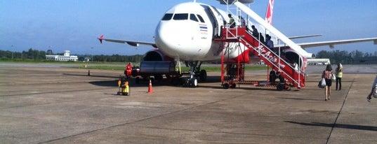 ท่าอากาศยานนานาชาติสุราษฎร์ธานี (URT) is one of AIRPORT.