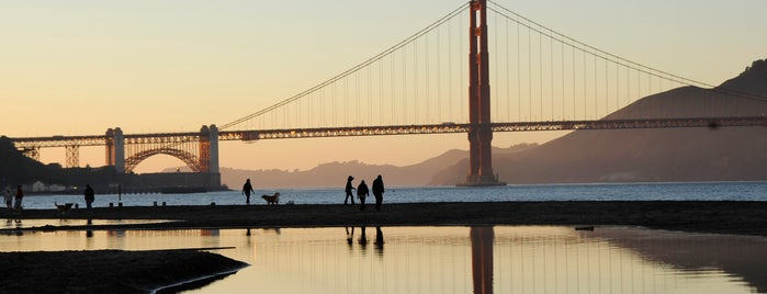Crissy Field is one of San Fran (To Do).