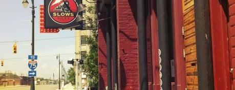 Slows Bar-B-Q is one of Eddie's Top SE MI Restaurants.