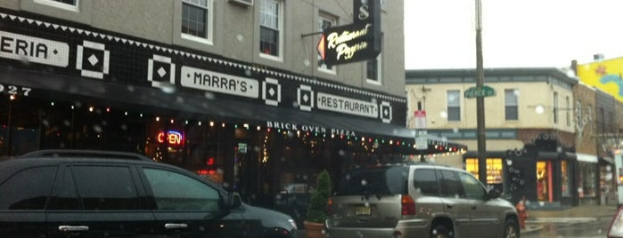 Marra's Restaurant is one of South Philly.