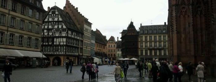 Place de la Cathédrale is one of Strasbourg.