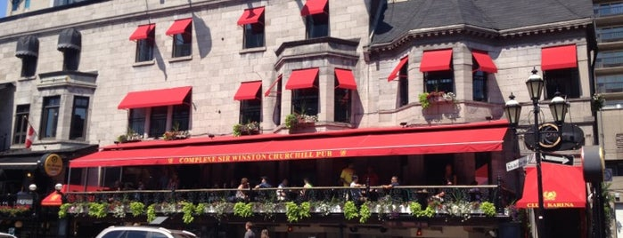 Sir Winston Churchill Pub is one of Montreal.