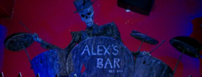 Alex's Bar is one of LA.