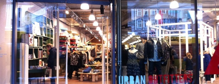 Urban Outfitters is one of Sven : понравившиеся места.