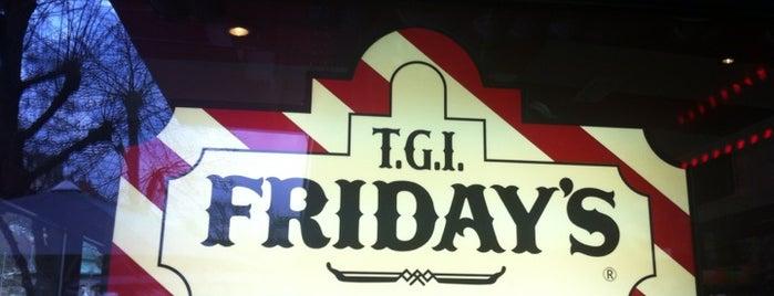 T.G.I. Friday's is one of Locais curtidos por Lisiane.