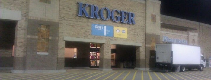 Kroger is one of สถานที่ที่ Steve ถูกใจ.